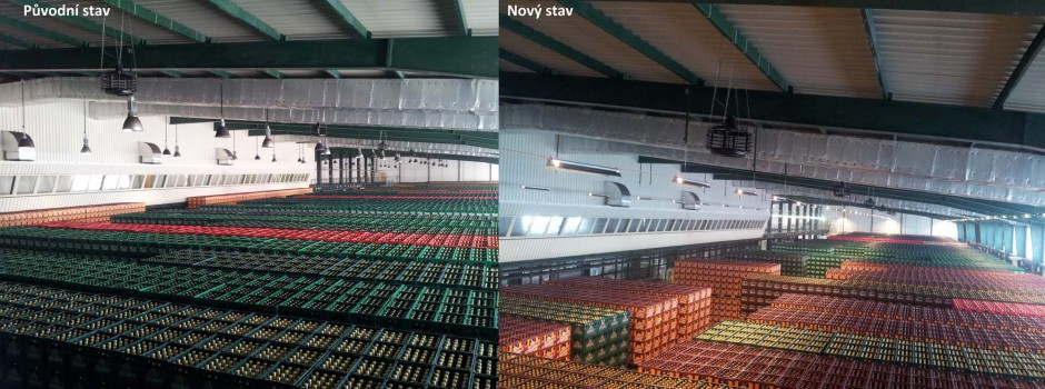 Úprava osvětlení pivovaru Radegast Nošovice (1)